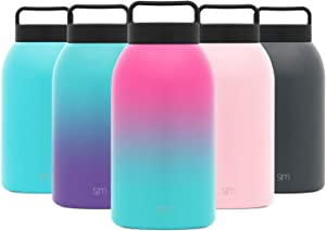 Simple Modern Provision Insulated Food Jar with Handle Lid - 64oz Vacuum Insulated Stainless Steel Thermos Leak Proof Storage Container Flask for Adults, Men and Women Ombre: Sorbet