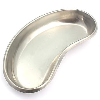 Amazon.com: Bandeja para riñonera de acero inoxidable de ...