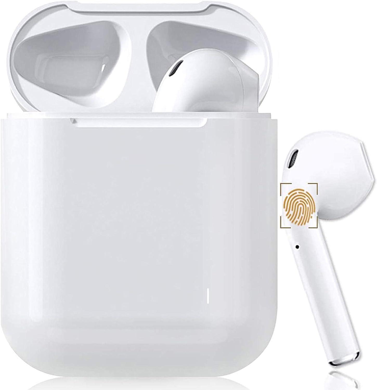 Auriculares Bluetooth 5.0 Auriculares Bluetooth Inalámbrico 650mAh 20H Tiempo De Juego Audio 3D estéreo HD in Ear con Mic,IPX7 Resistentes al AguaAuriculares,para Apple Airpods Pro/Android/iPhone