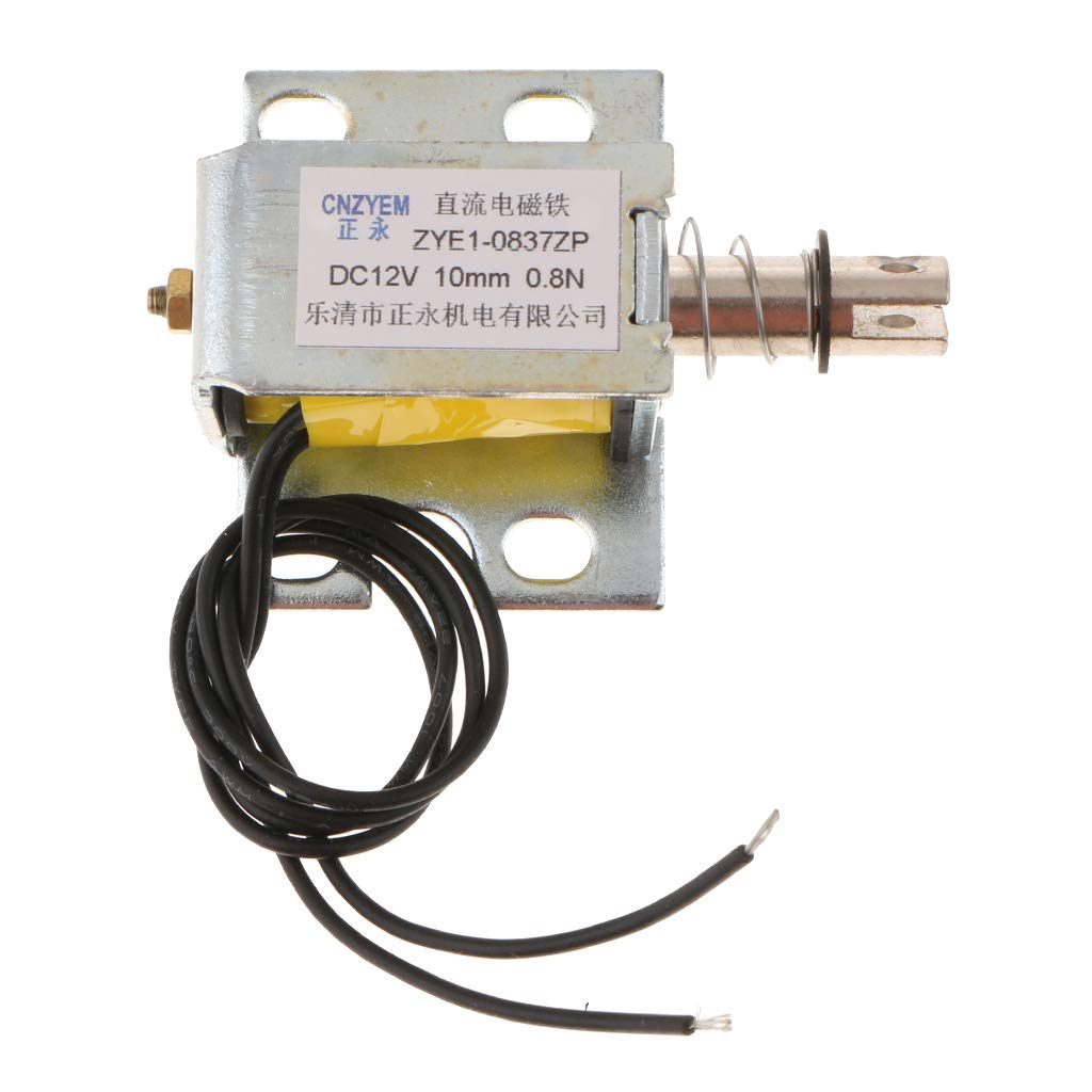 Heschen brass electric solenoid valve V2A102-03 12 VDC PT 1//2 2 port 2 position direct action water air oil valve normally closed