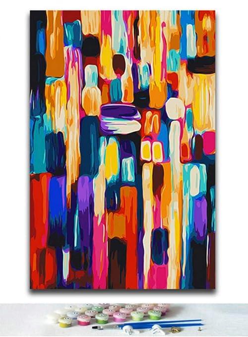 Pinturas De Bricolaje Dibujos Para Colorear Por Números En