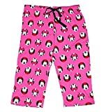 Disney Classic Minnie Mouse Womens Pajama Pants - Minnie In Cirlces - Pink