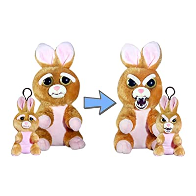 Feisty Pets Vicky Vicious and Mini Vicky Vicious Adorable Plush Stuffed Bunny: Toys & Games