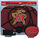 NCAA Maryland Terrapins Kids Slam Dunk Hoop Set, Red, Small