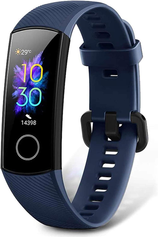 HONOR Band 5 Pulsera Actividad Inteligente Pulsera de Actividad con Pulsómetro Mujer Hombre, Monitor de Actividad Deportiva, Ritmo Cardíaco, Impermeable IP68, Reloj Fitness, con Podómetro