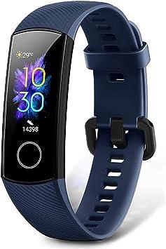 HONOR Band 5 Pulsera Actividad Inteligente Pulsera de Actividad con Pulsómetro Mujer Hombre, Monitor de Actividad Deportiva, Ritmo Cardíaco, Impermeable IP68, Reloj Fitness, con Podómetro: Amazon.es: Electrónica