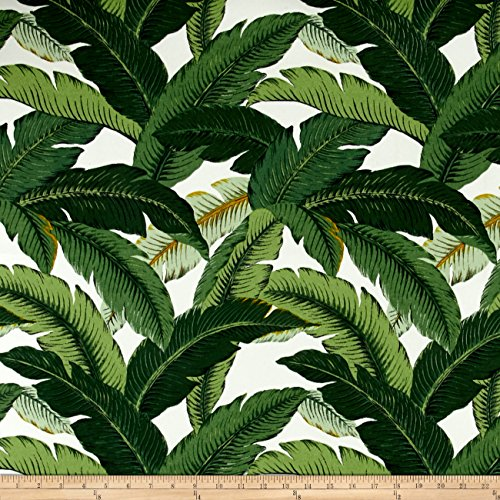 Tommy Bahama Indoor/Outdoor Island Hopping Emerald Fabric By The (Tommy Bahama Leaf)
