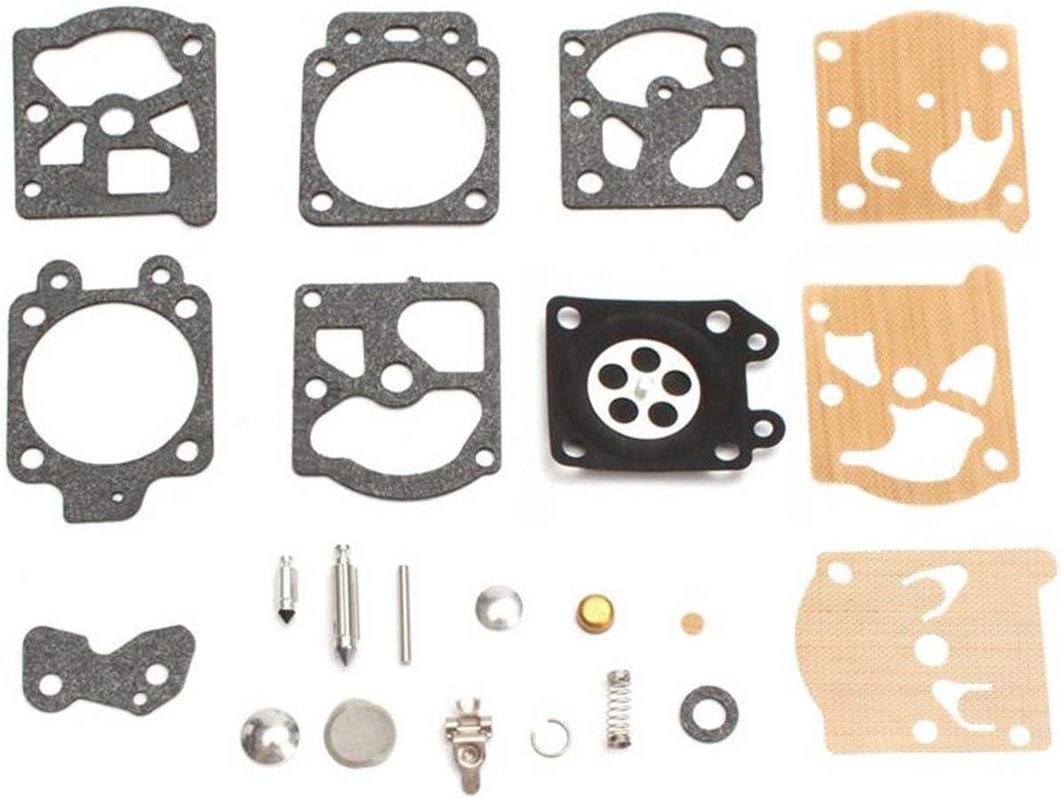 MachinYesity K20-WAT Carburetor Repair Kit Rebuild Tool Gasket Set For Walbro Motorcycle Accessories Repair Parts Fuel Carburetor Supply Mix color