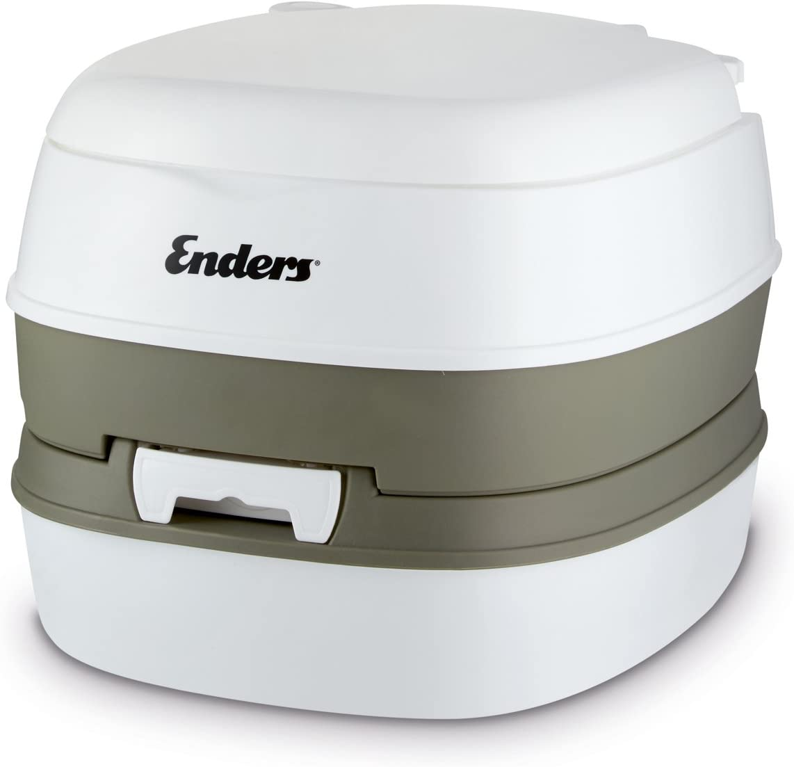 Enders Comfort-Camping Toilet, White