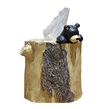 Amazon Com Lpy Tissue Box Roll Paper Bear Style Resin