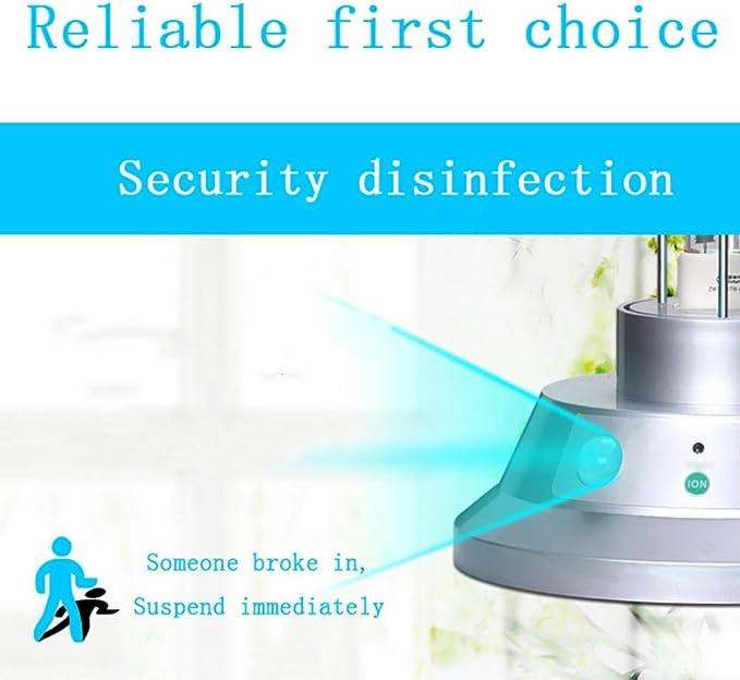 ZHDD Lámpara Esterilización UV, Sensor Infrarrojo, Purificación De ...