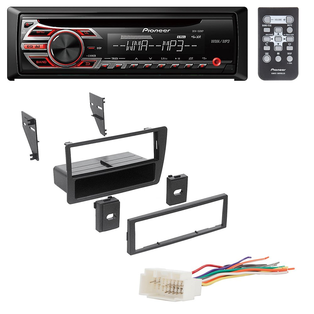 61xDL9 PjlL._SL1000_ amazon com honda civic 2001 2002 2003 2004 2005 car stereo radio 2002 honda civic radio wire harness at reclaimingppi.co
