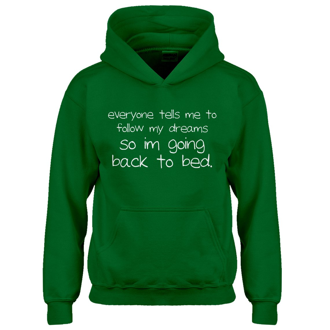 Indica Plateau Youth Back to Bed Kids Hoodie
