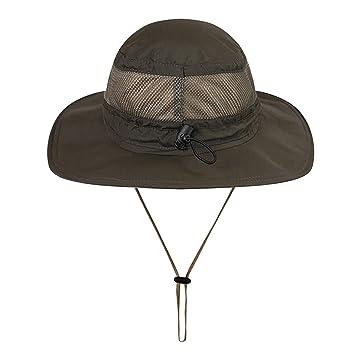Gisdanchz Sombrero Hombre Sombrero Ropa Senderismo Golf Mujer Gorra De Caza Mujer Verano Sombrero Safari Mujer Playa Gorro Pescador Hombre Sombreros Verde: ...
