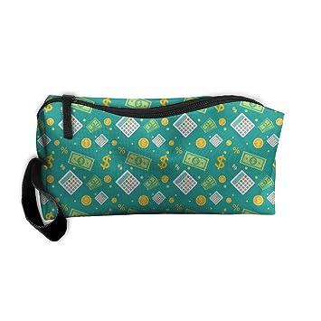 626551a5dd CXCcoco Dollar Cute Women Makeup Bag Makeup Pencil Case Box Makeup Bag  Organizer