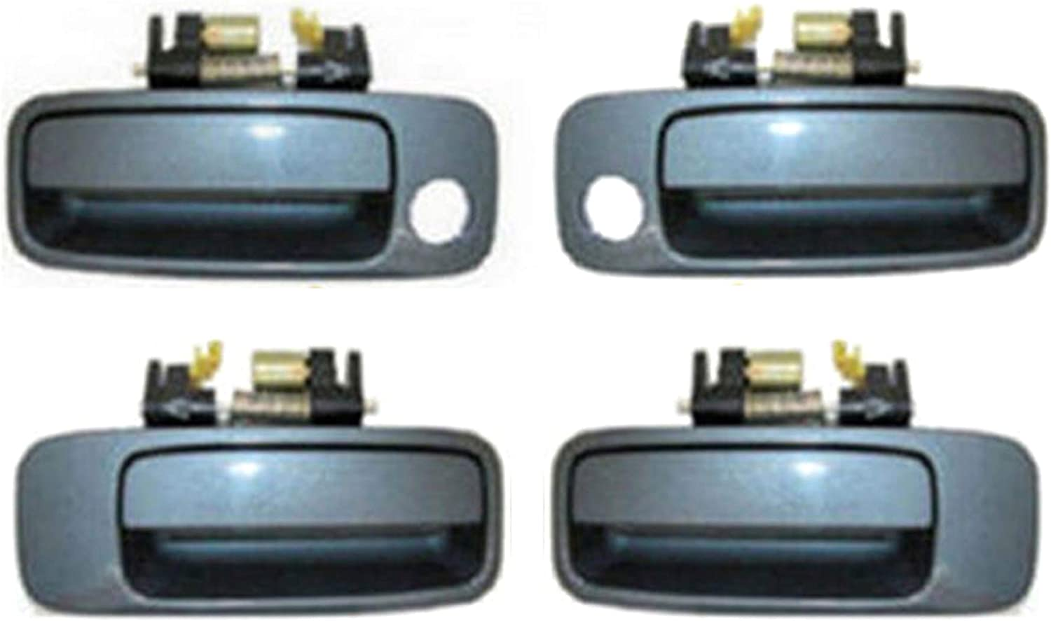 For 1997-2001 Toyota Camry Outside Door Handle Blue Dusk Pearl 930 Front Left