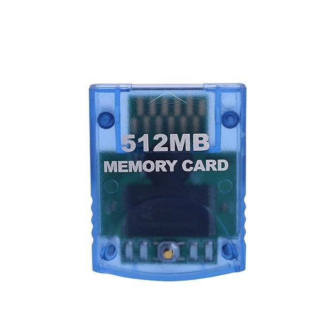 Amazon.com: Tarjeta de memoria para consola Nintendo Wii NGC ...