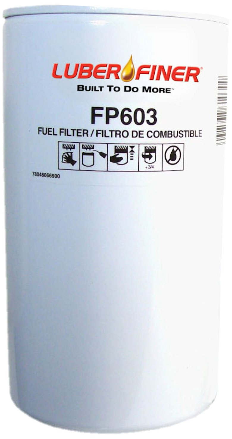 Luber-finer FP603-12PK Heavy Duty Fuel Filter, 12 Pack by Luber-finer