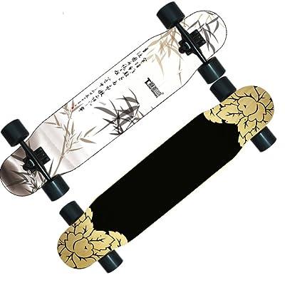Danse/Garçons route skateboard/Scooter adulte/ le long à quatre roues/Double up brosse à plancher danse Street