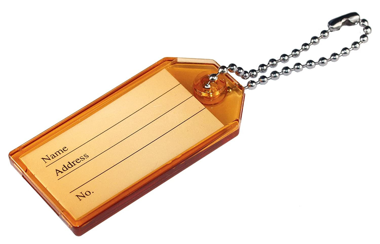 The Hillman Group 701294 Hard Plastic Key Id Tags