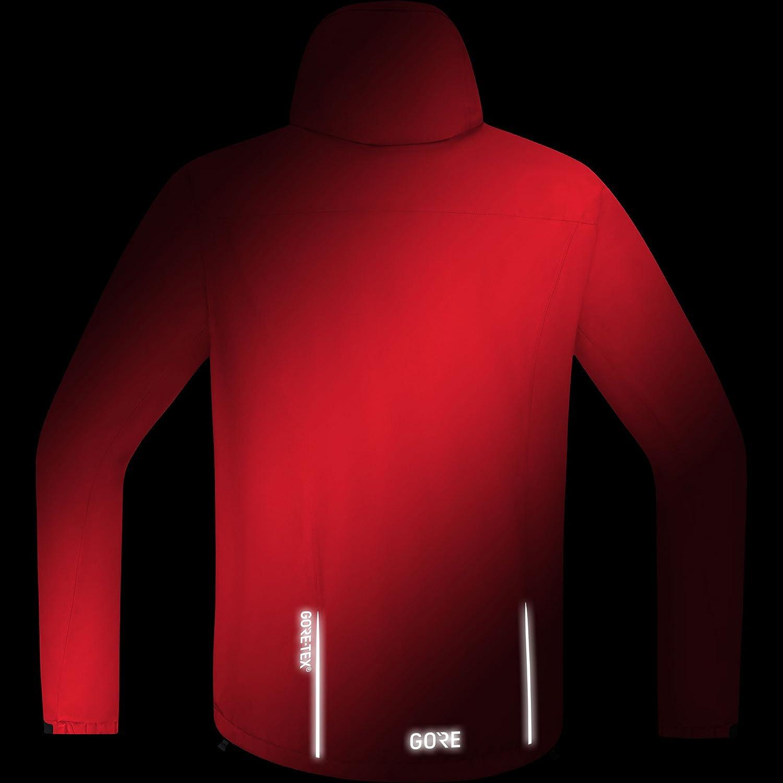 GORE Wear C3 GORE Wear TEX Paclite Hooded Jacket GORE Wear Mens Waterproof Hooded Bike Jacket 100036