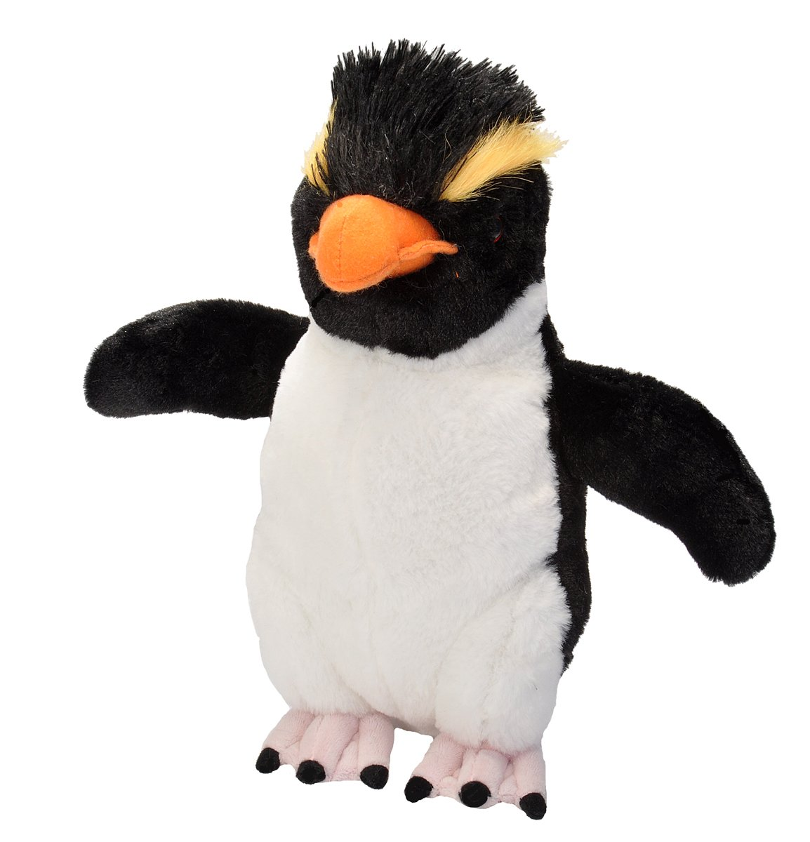 Amazon.com: Wild Republic Rockhopper Penguin Plush, Stuffed Animal, Plush Toy, Gifts For Kids, Cuddlekins 12