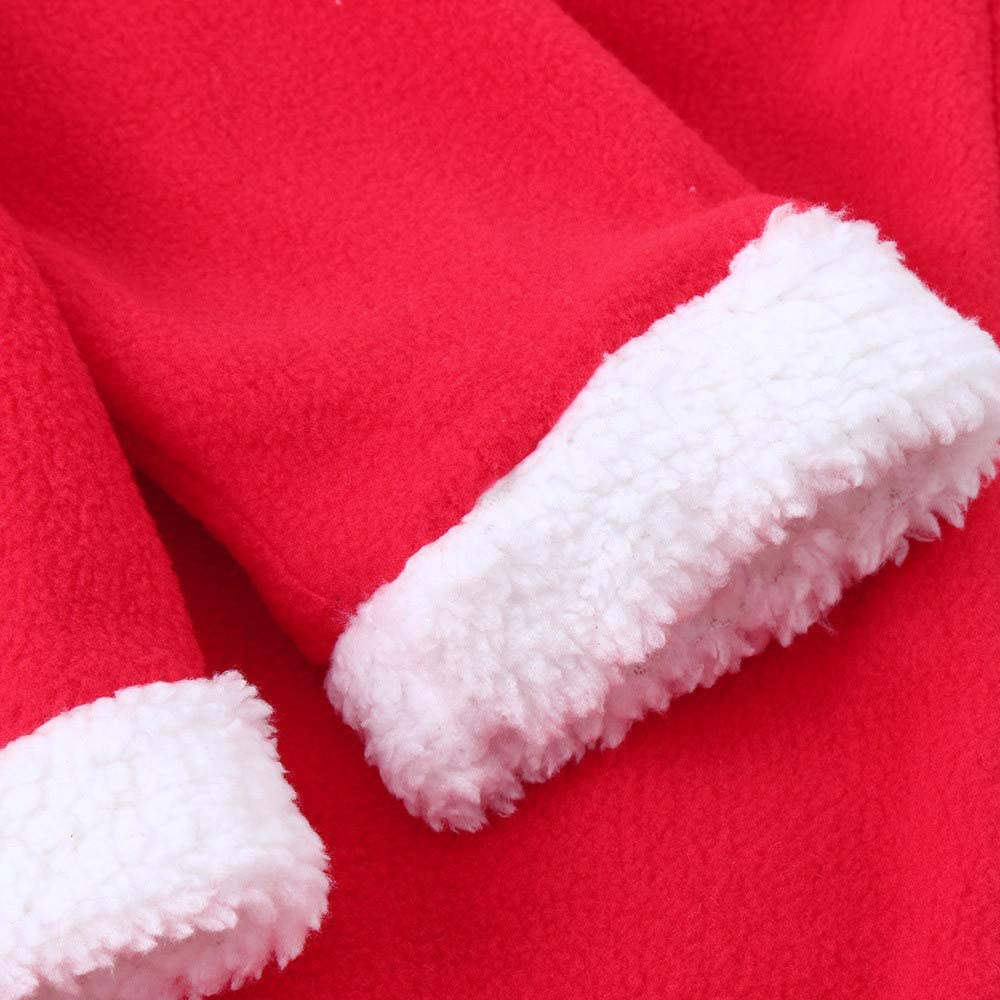 Pants SHOBDW Boys Clothing Sets Hat Belt Toddler Kids Outfit Clothes Baby Girls Christmas Santa Party Costume T-Shirt