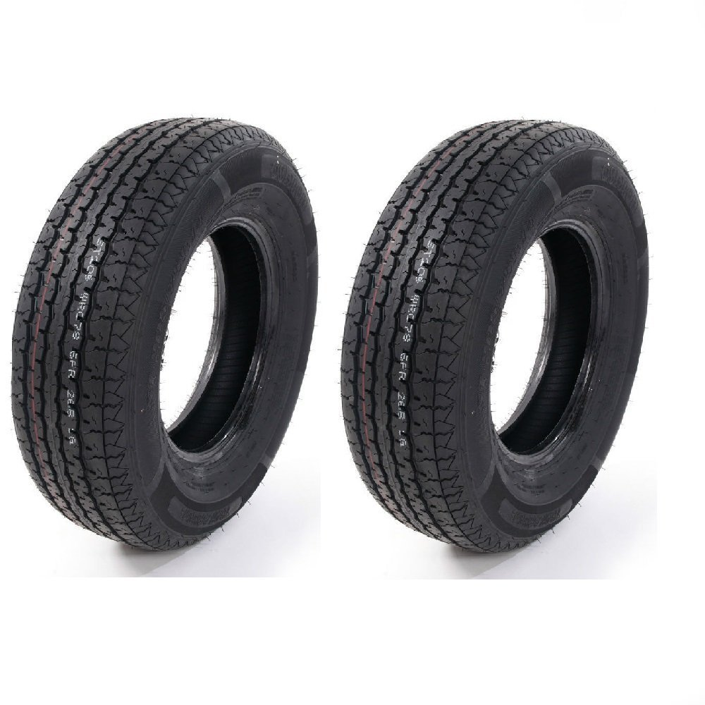 Set of 4 ST205/75R14 Radial Trailer Tires 6 Ply Load Range C 205 75 14 by Roadstar (Image #6)