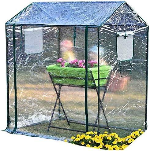 Invernadero Jardín Invernadero Invernadero pequeño jardín - Mini jardín Invernadero Ideal para la propagación de Semillas y Plantas portadoras, 125 × 85 × 150 cm.: Amazon.es: Hogar