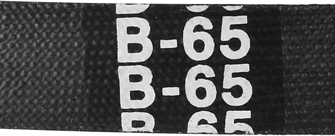 sourcing map B62 Drive V-Belt Girth 62-inch Industrial Power Rubber Transmission Belt