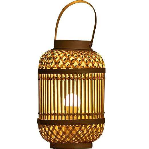 Lámpara de mesa Sudeste Asiático Jardín japonés Personalidad ...