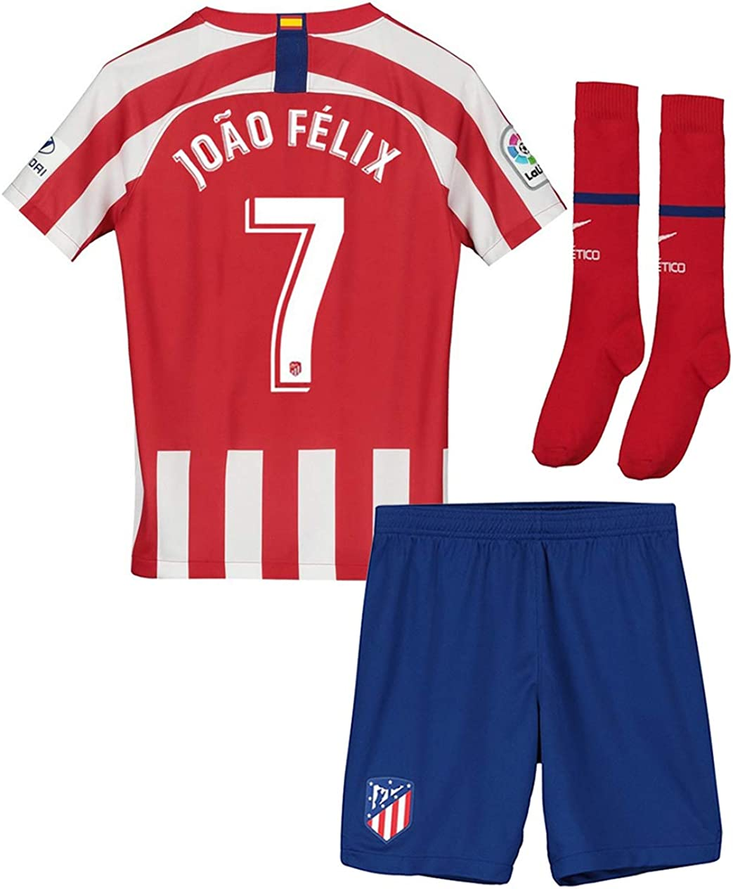 2020 Football Soccer Home /& Away Kits Kids Jersey Suit Training Outfits /& Socks