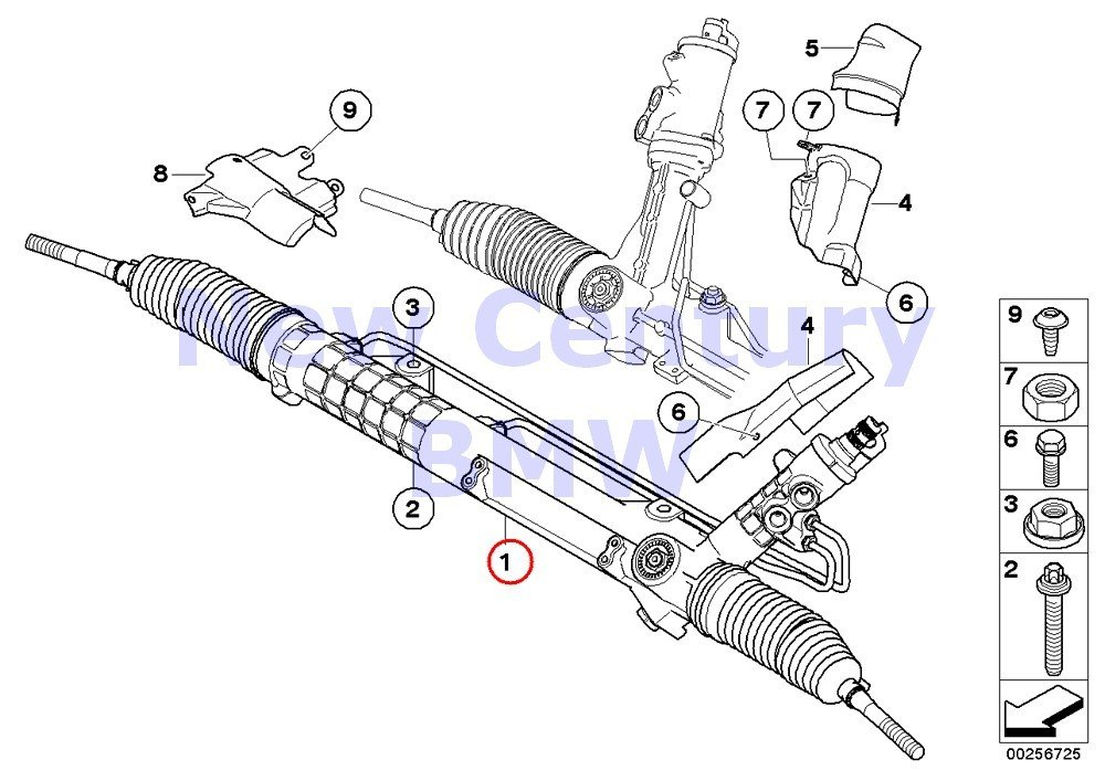 Amazon Com Bmw Genuine Hydro Steering Box Rmfd Hydro Steering Gear