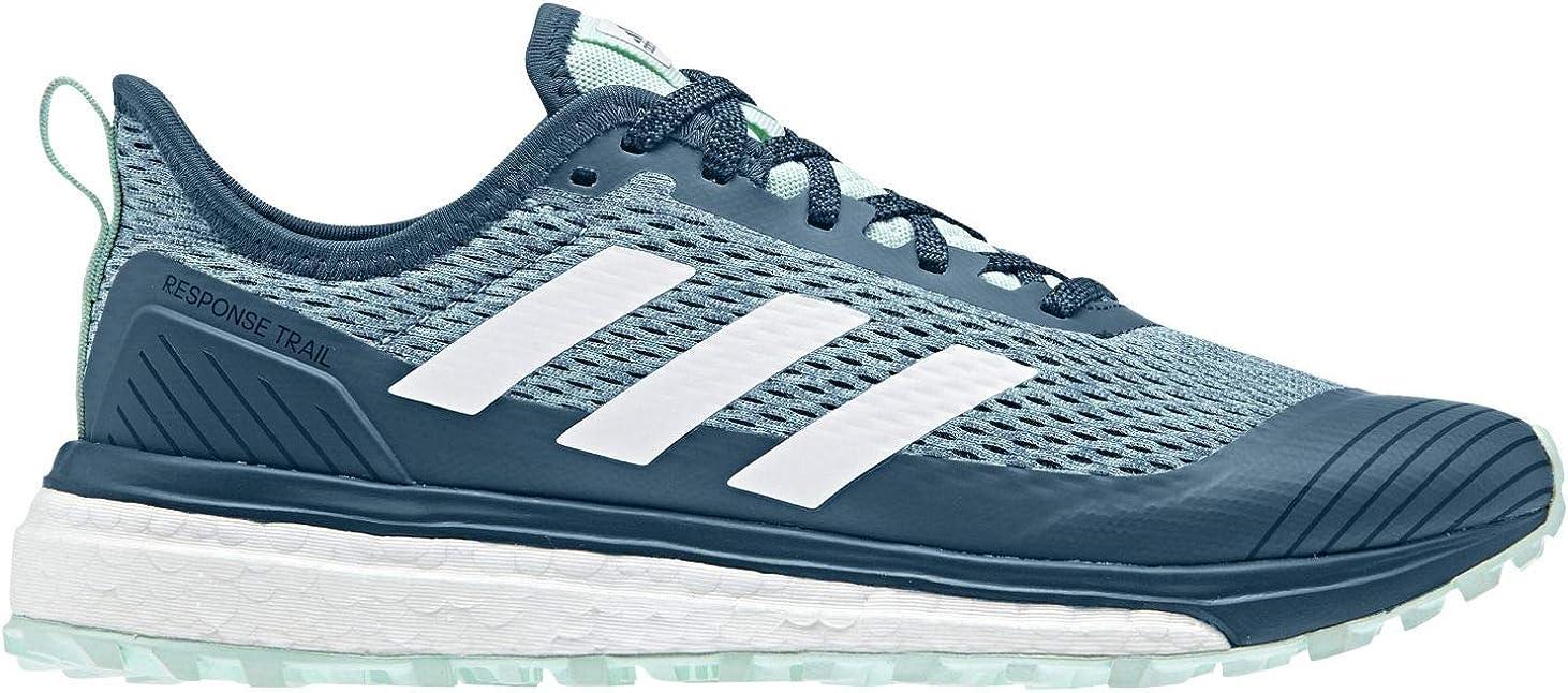 adidas Performance Response TR Boost W - Zapatillas de correr para mujer, Negro (Negro/Blanco/Verde Azulado Real), 36 EU: Amazon.es: Zapatos y complementos