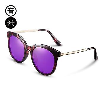 fb6f1f8356 LLZTYJ Gafas De Sol UV Aire Viento Polarizador Espejo Caja Grande Gafas De  Sol Mujer Gafas ...