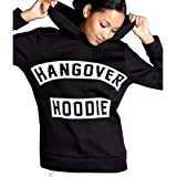 Livesimply Women's Long Sleeve Drawstring Hoodies Letter Pullover Fleece Sweatshirt Top with Pockets