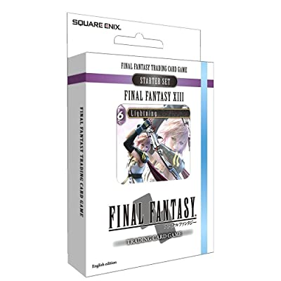 Square Enix Final Fantasy TCG XIII Starter Deck (Ice and Lightning): Toys & Games