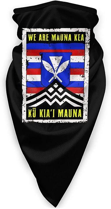Ku KiaI Mauna Vintage Hawaiian Flag Unisex Knit Beanie Hat We are Mauna Kea