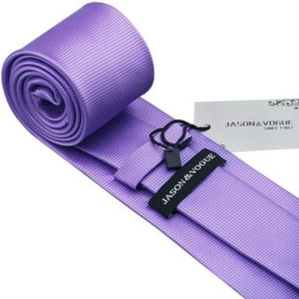 Cravatta Jason/&Vogue Uomo viola lilla