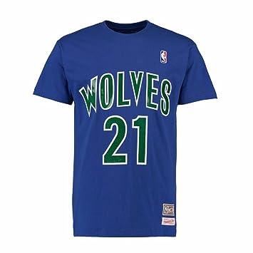 promo code 1201a ffe91 Amazon.com : Kevin Garnett Minnesota Timberwolves NBA ...