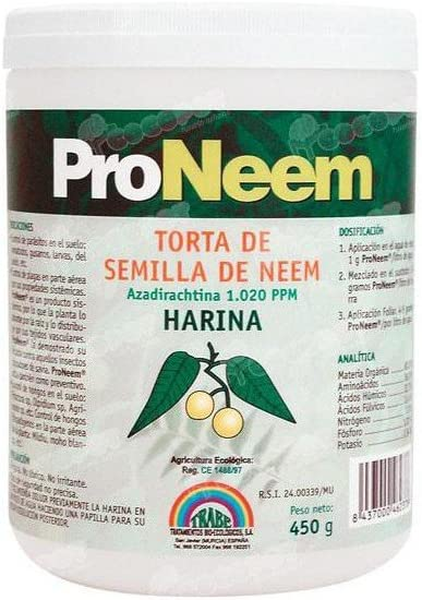TRABE - Fungicida Nematicida Ecológico Torta Neem 450g.