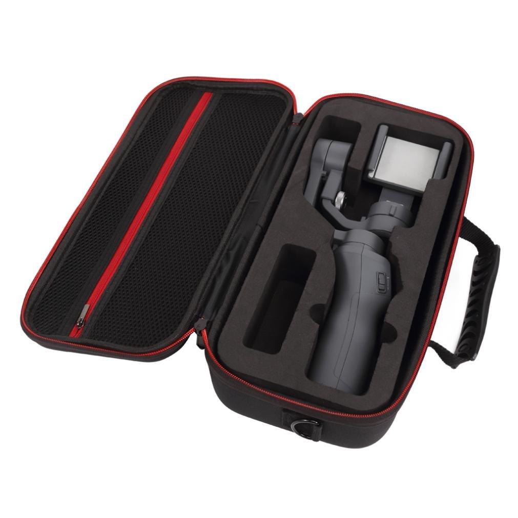 Wokee Schwarz EVA Reisetasche Aufbewahrungstasche Case Cover Carry für DJI Osmo 2 Mobile Gimbal & Zubehör Handheld Tasche Aufbewahrungstasche für DJI Mavic Pro Drone und Zubehör
