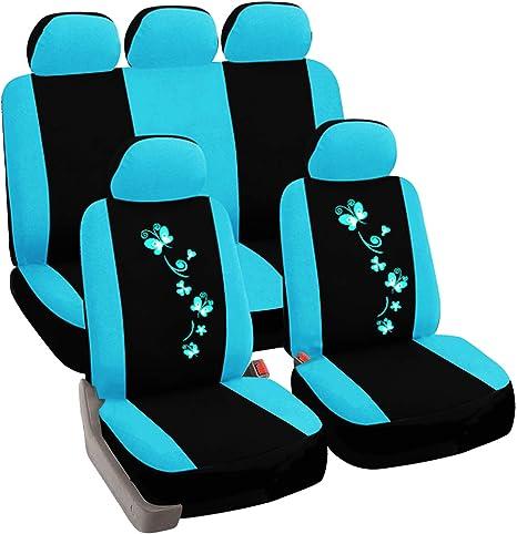 Sitzbezüge Sitzbezug Schonbezüge für Ford Puma Rot Sportline Komplettset