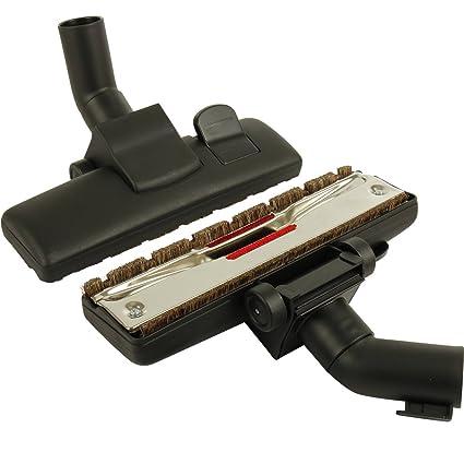Boquilla Boquilla combinada 2 ruedas Adecuado para aspiradora 35/32 mm AEG Siemens Miele muchas