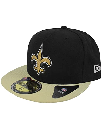 super popular 85389 57902 New Era 59Fifty NFL New Orleans Saints Draft Cap  Amazon.co.uk  Clothing