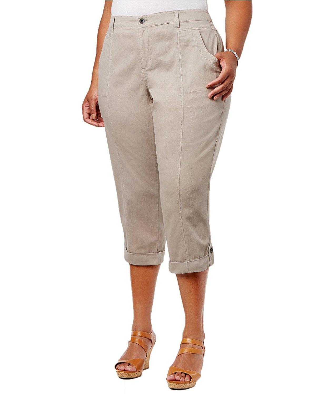 Style & Co. Plus Size Capri Pants (24W)
