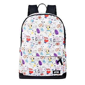 Luggage & Bags Kids & Baby's Bags Qualified Kpop Bts Bt21 Bangtan Boys Tata Cooky Shooky School Book Backpack Bag Cartoon