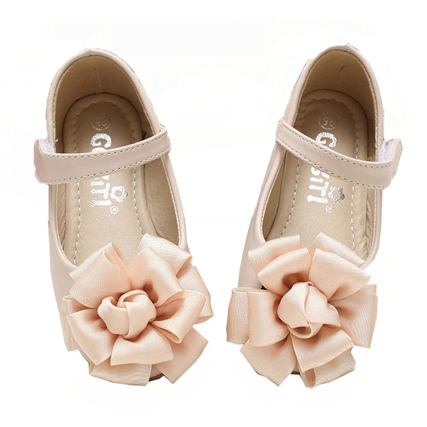 01a170a2bd6 Always Pretty Bow Round Toe Ballet Flats Slip On Shoes (Toddler Little Kid