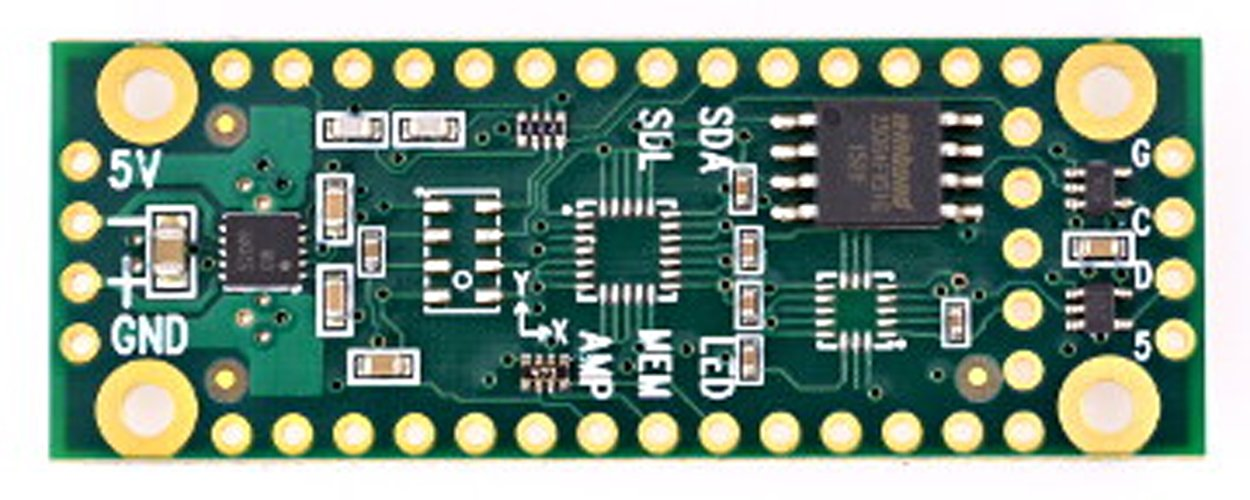 Teensy Prop Shield Low Cost (no Motion Sensors)
