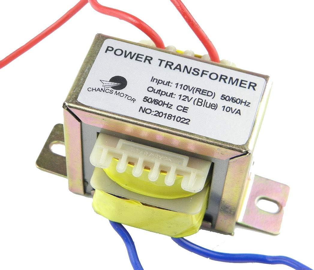Amazon.com: CHANCS Power Transformer Input 110V Output AC 12V AC/AC  Transformer for Sychronous Motor: Home Audio & TheaterAmazon.com